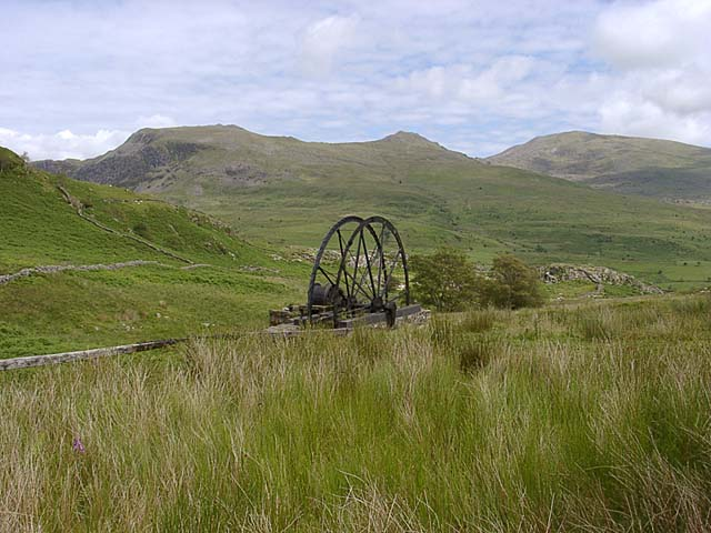 Cwm Ciprwth Waterwheel