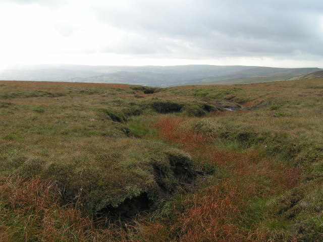 The head of Roych Clough