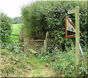 TQ1834 : Stile adjacent to Northlands Road by Pete Chapman