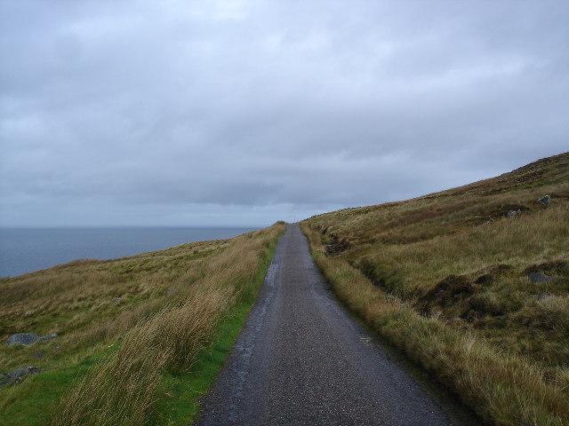 Road to Rubha Reidh