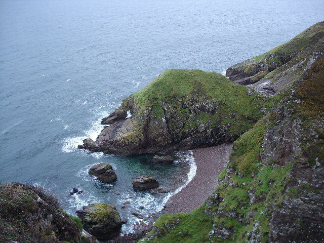 Natural Arch at A' Chleit