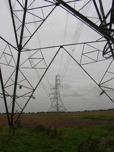 Pylons Pylons, over Carr Road
