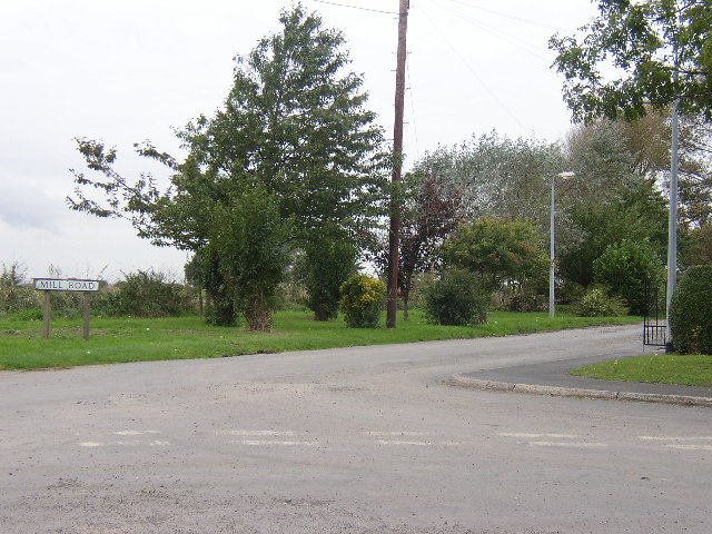 Mill Road, Junction With Garthorpe Road