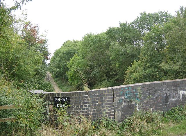 Bridge over the 'Old Worse & Worse'