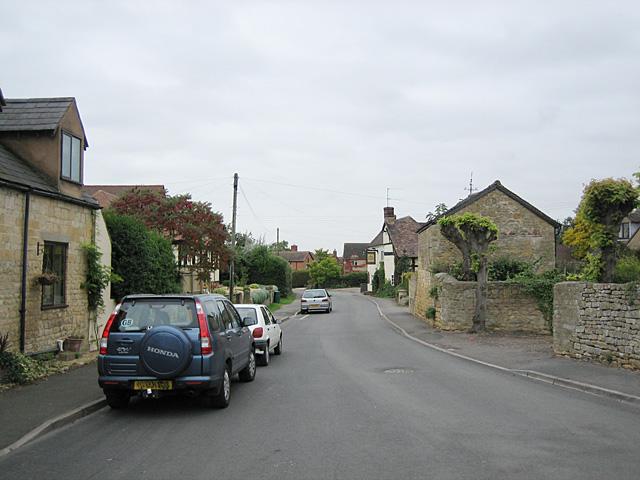 Village Street in Mickleton