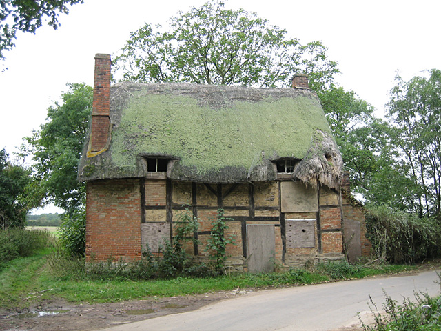 Atherstone on Stour, Thatched Cottage