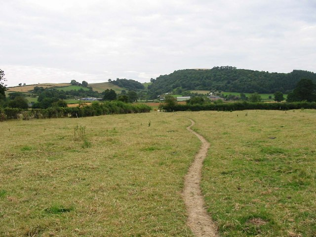 The Lugg Valley to the West of Byton