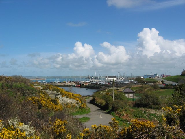 Marina and Outer Harbour from top quarry road