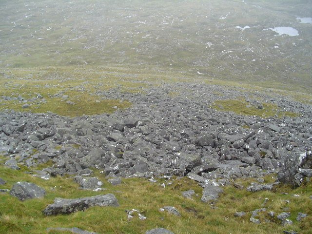 Scree Slope, Mullach An Langa