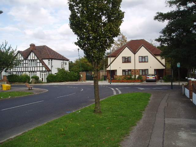 New houses, Nathans Road, North Wembley, Middlesex