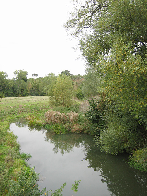 River Stour near Wimpstone