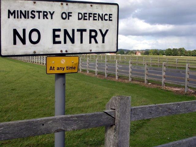 Entrance to Dalton Barracks