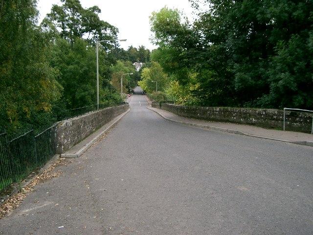 Bridge over the river Turret