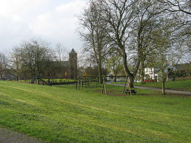 Temple Sowerby village green, Cumbria