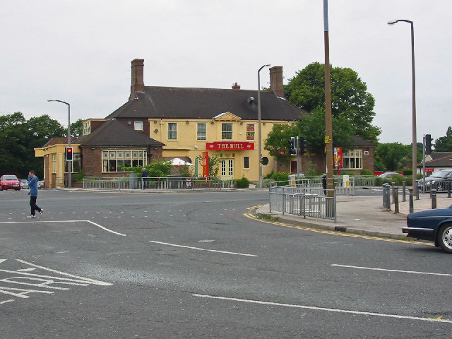 The Bull Pub, Moortown Leeds.