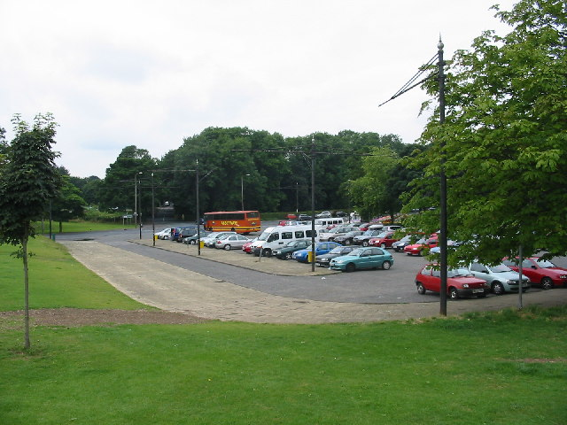 Car Park for Roundhay Park