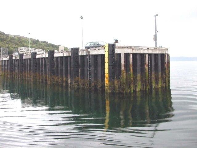 Lochranza Pier, Isle of Arran.