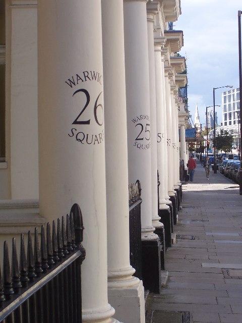 Warwick Square, Pimlico