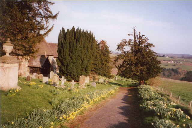 Tedstone Delamere, St James's Church