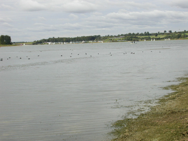 Shoreline of Reservoir
