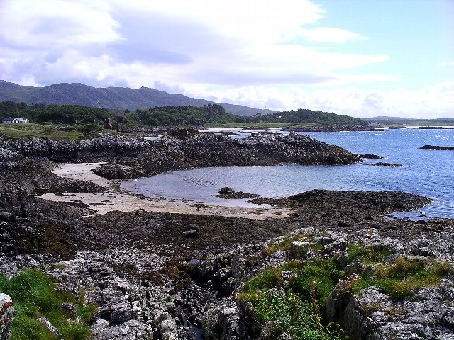 The coast south of Camusdarach