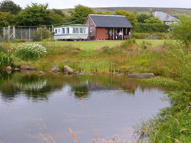 Fishery by Blackwaterfoot, Isle of Arran.