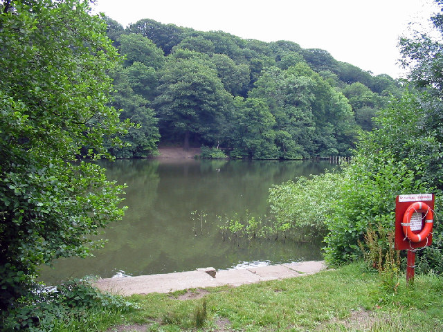 Waterloo Lake, Roundhay Park, Leeds.