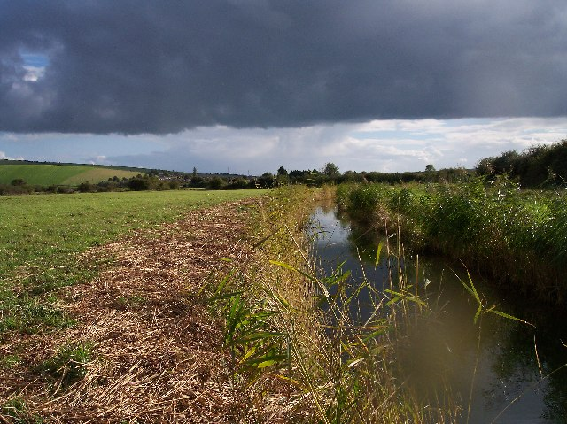Drainage Ditch - After the Storm
