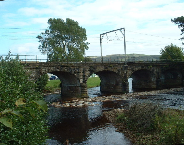 Six Arches Bridge, on the River Wyre