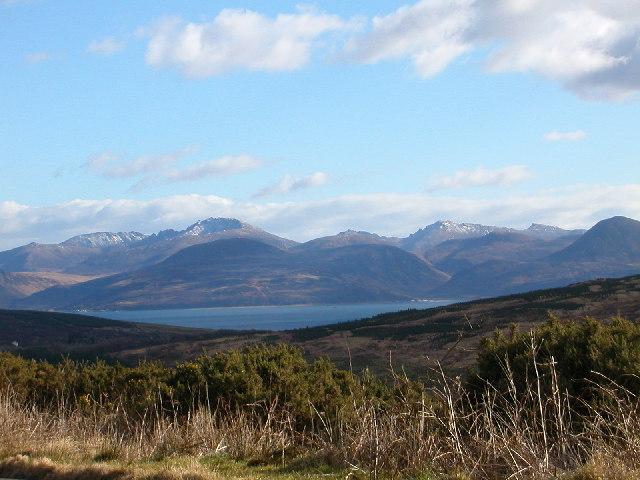 Hills of Isle of Arran