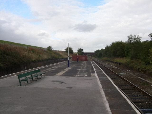 Denton Railway Station