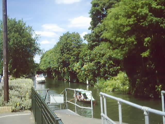 Thames River near Maidenhead Bridge