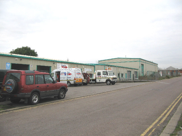 Industrial units at Brook Lane