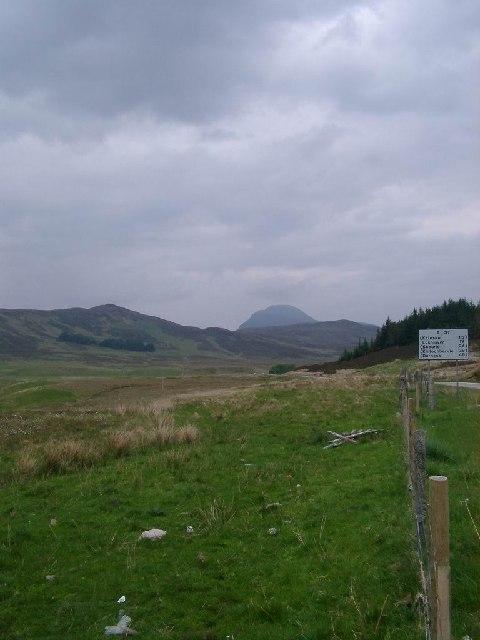 Hills near Ledmore, Sutherland