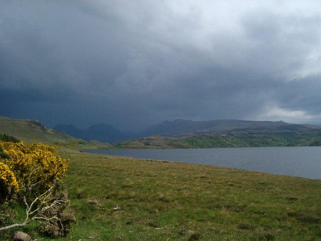 Loch Osgaig looking South East