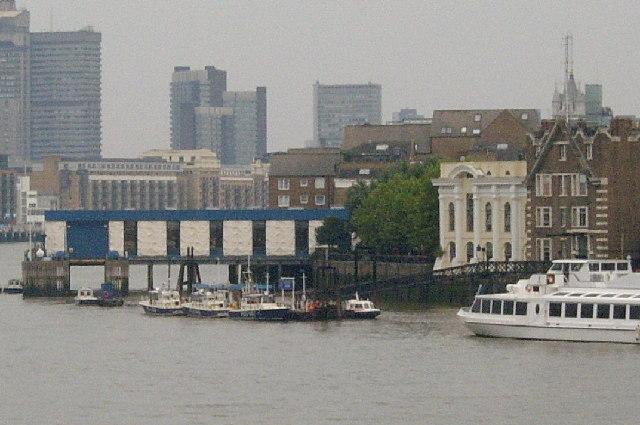 Met Police river-boat maintenance pier
