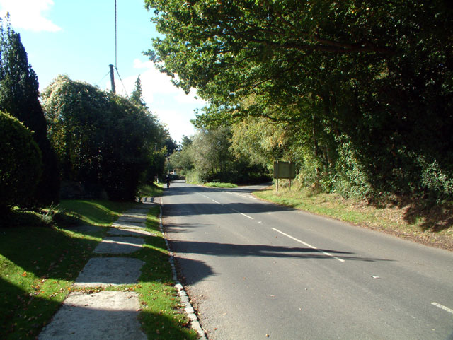B2165 at Clayhill, East Sussex TN31
