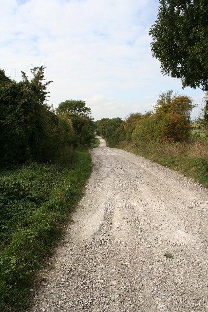 Ridgeway looking west
