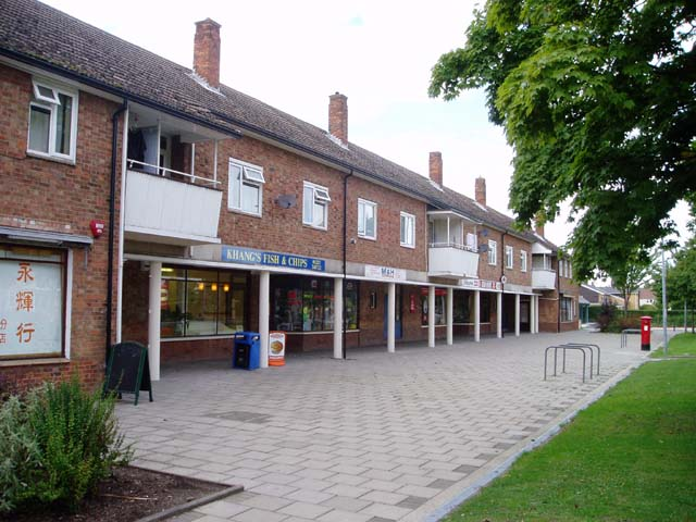 Shops on the Queen Edith's estate