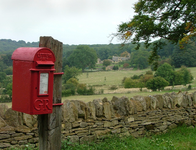 Letterbox? or Postbox?