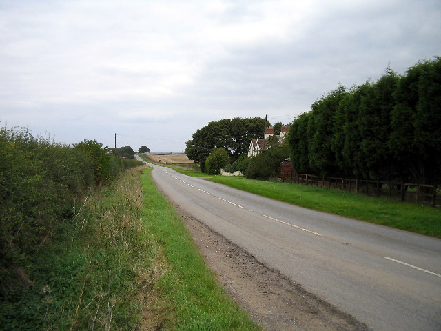 The old Barton to Brigg Turnpike road