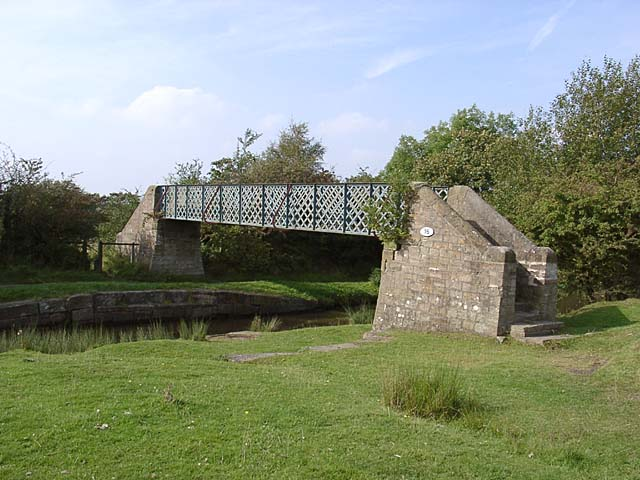 Hagg Bank footbridge