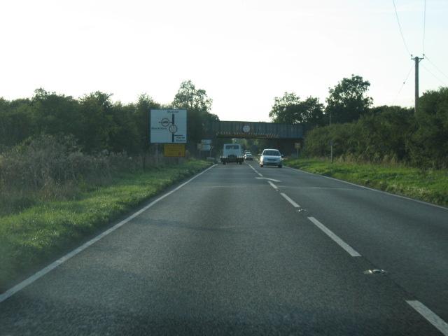 Blackthorn railway bridge