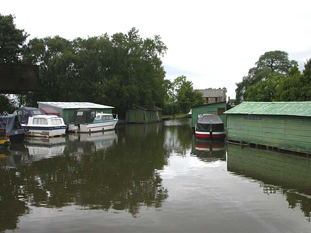 High Lane boathouses