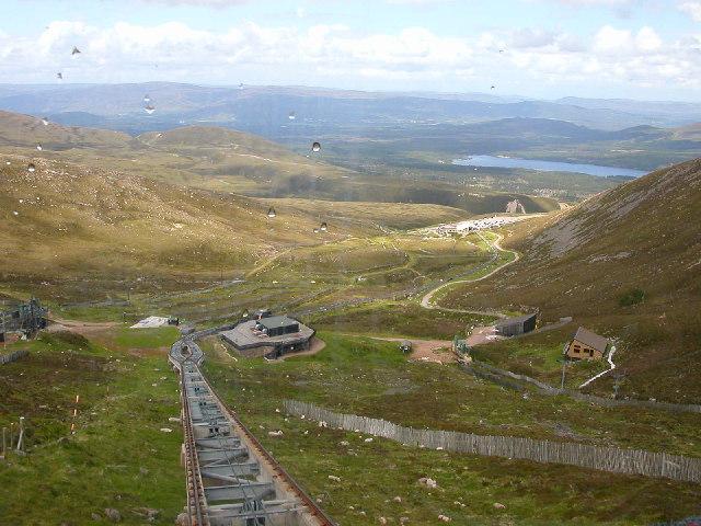Cairngorm Funicular Railway.