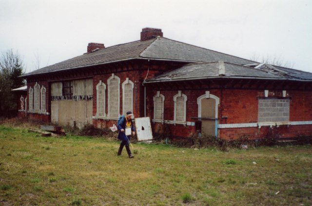 Measham station, Leicestershire
