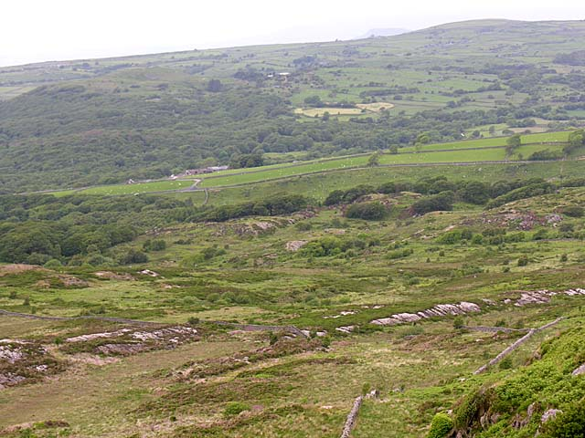 View from Moelfre Mine