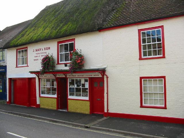 Butchers shop, Salisbury Street, Fordingbridge.