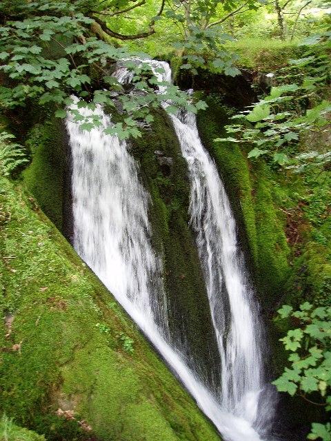 Nant yr Eira waterfall