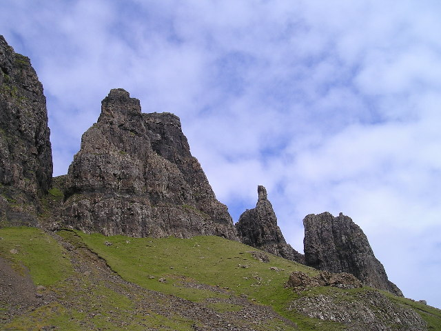 The Prison and the Needle, The Quiraing, Skye